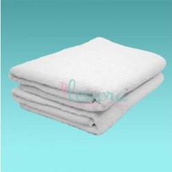 Lenora White Spa Bed Towel, Size: 36 X 72 Inch, 250-350 GSM