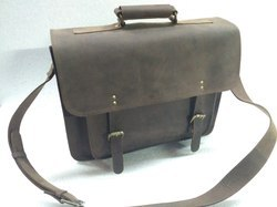 Vintage Leather Briefcase Bag