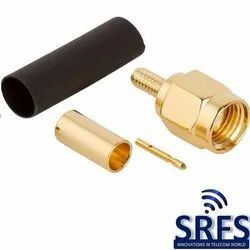 SMA Male Connector For LMR 100, RG 316 Cable