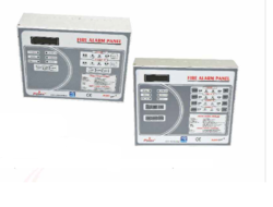 2 and 4 Zone Addressable Fire Alarm System