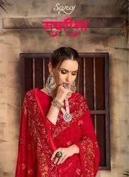 Saroj Sabrina Fancy Designer Saree