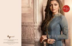 Lt Nitya Vol 129 French Crepe Suit