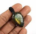 Gemstone Macrame Pendants