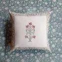 Printed Cotton Cushion Cover, Floral Cushion Cover, 40 x 40 Cushion Cover