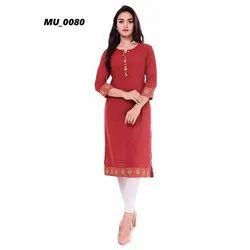Brown Ladies Kurti