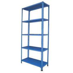 Blue Slotted Angle Rack, for Hospital