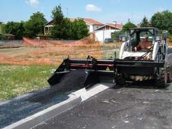 Asphalt Float Skid Steer Attachment
