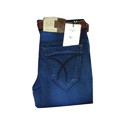 Regular Fit Stretchable Mens Blue Jeans