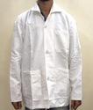White Cloth Lab Coat