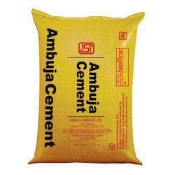 Ambuja Cement, Packing Size: 50 Kg, Packaging Type: Sack Bag