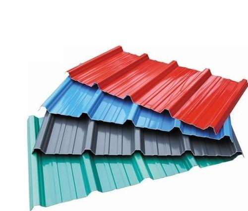 Coloured Roofing Sheet at Rs 64/kilogram | कलर कोटेड ...