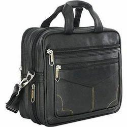 Leather Black Designer Office Bag