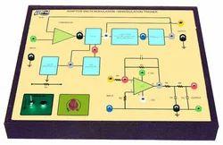 Adeptive Delta Modulation & Demodulation Trainer
