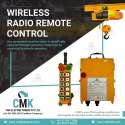 Wireless Radio Remote Control for the Eot Crane