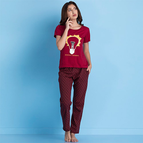 f6f423ccafbd Ladies Trendy Pyjama Set