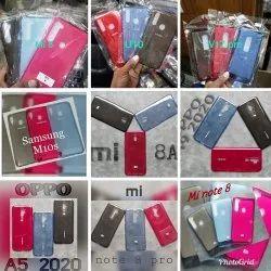 Mix Silicon Colour Transparent Mobile Cover, 10pc