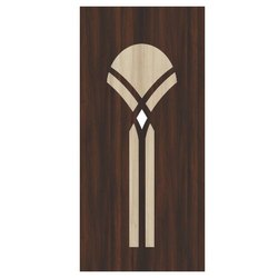 Interior Powder Coated Hardwood Door for Home and Hotels