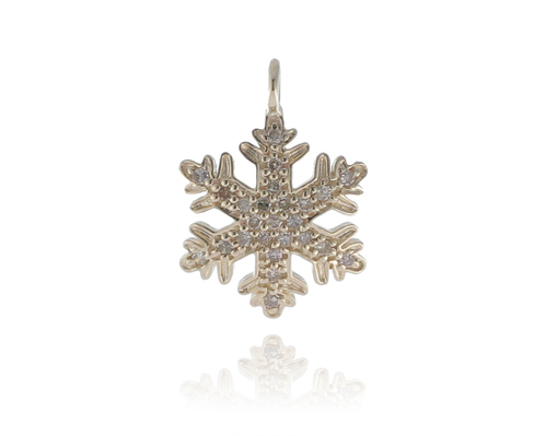 Chic designs yellow diamond gold snowflake pendant rs 15312 piece chic designs yellow diamond gold snowflake pendant aloadofball Image collections