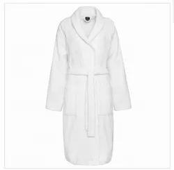 Plain Cotton Bath Robe