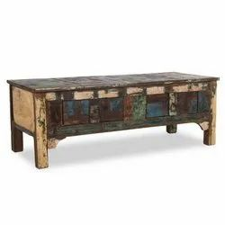 Home Glamour Reclaimed Rectangle Coffee Table