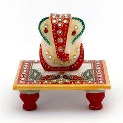 Marble Chowki Ganesha