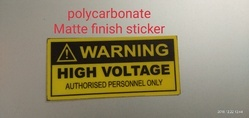 Polycarbonate Customized Labels