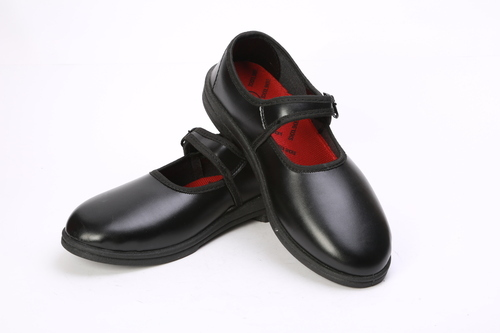 Girls Black Belly School Shoes, Rs 300