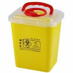 Sharp Knife Needle Disposable Container 10 Litre for Hospitals