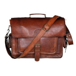 Leather Briefcase Bag ( Andi )