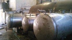 Mid Steel Black SS Air Receiver Tank