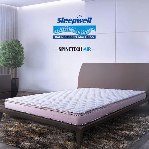 Sleepwell Spinetech Air Back Support Mattress Sleepwell
