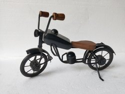 Iron Bike Miniature Bike Decor Handicraft