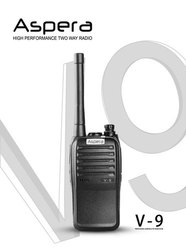 16 Channel Aspera Walkie Talkie
