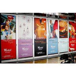 Vinyl Board Printing Service, Industry Application: Advertising