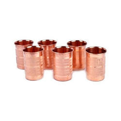 Copper Water Glass, Capacity: 200 Ml