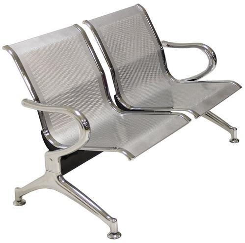 Metal Fixed Two Seater Waiting Chair, MBTC IntraFurnish ...