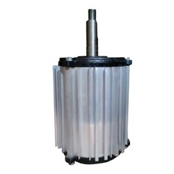 Silver Industrial Cooler Motor 1.5KW Single Phase