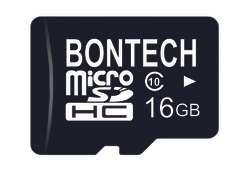 Bontech 16gb Memory Card With 6 Month Guarantee, 80, 10