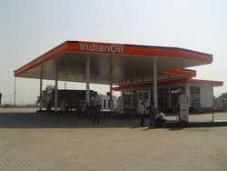 Petrol Pump Shed Work