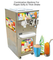 Combination Machine for Ripple Softy and Thick Milk Shake