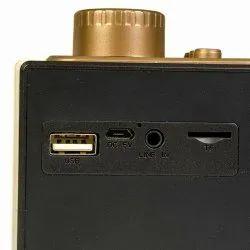 Black 2.1 Phonokart Speaker, Size: 80db, Ac3.7 V