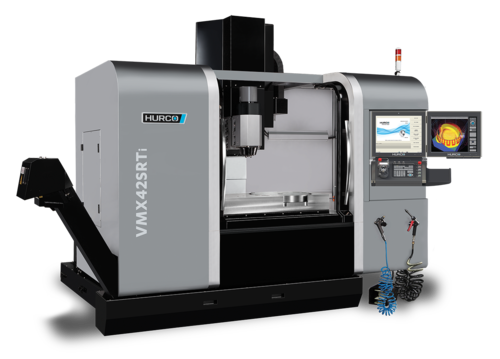 Five Axis Simultaneous Cnc Milling Machine With Tilting Head