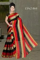 1168 Handloom Cotton Silk Saree