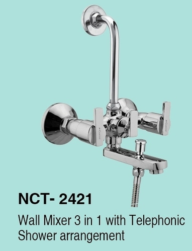 Ncashyap Triton Wall Mixer 3in1