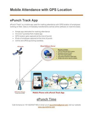 gps tracking and attendance app global positioning system software
