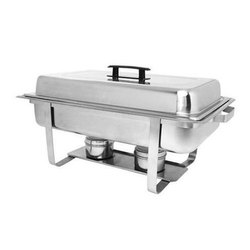Rectangle Dome Lift Top Chafing Dishes