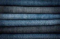 Plain Indigo Denim Fabrics, Packaging Type: Roll