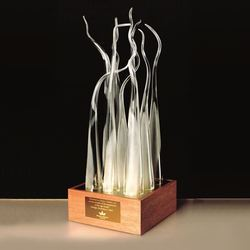 Handmade Glass Sculpture
