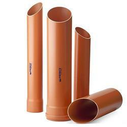 Prince Underground Drainage PVC Pipe, Thickness: 2.70 to 13.10mm