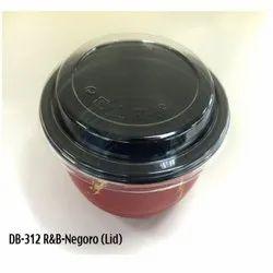 DB-312-Black-Netgoro (Lid) Plastic Container